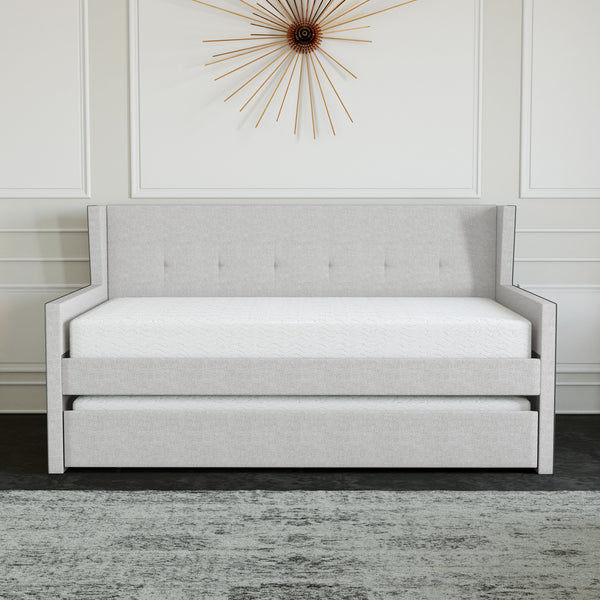 Carlisle Linen Trundle Bed