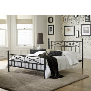 Emma Metal Platform Bed