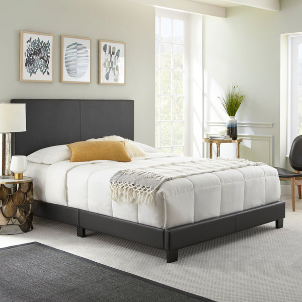 Florence Faux Leather Upholstered Bed
