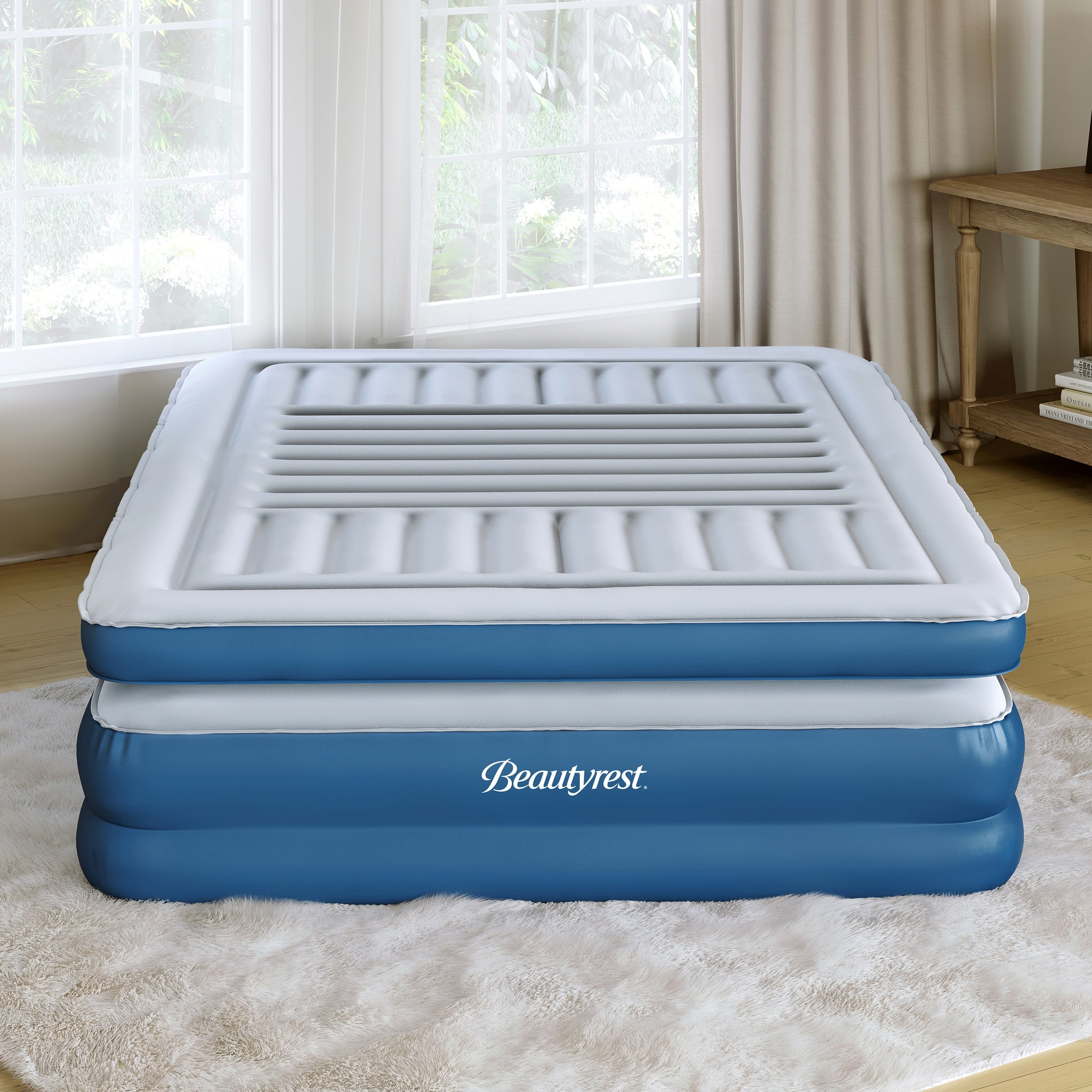"Beautyrest LuxAire 20"" Tri-Zone Euro Top Air Mattress Express Bed - King"
