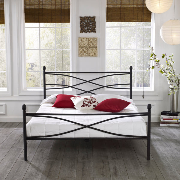 Rosalyn Metal Platform Bed
