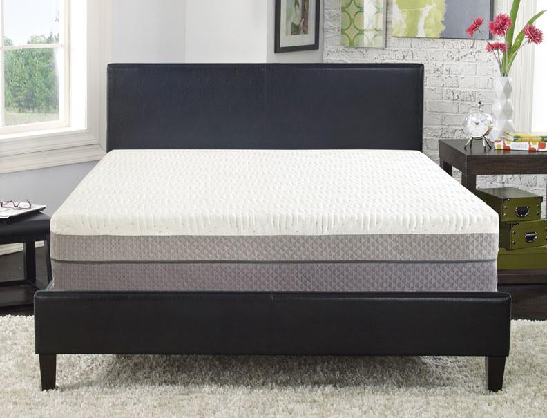 "Cube™ 12"" Customizable Memory Foam Mattress"
