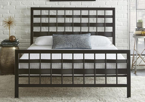 Faith Metal Platform Bed