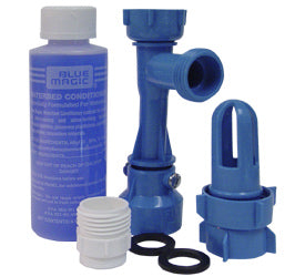Waterbed Fill and Drain Kit with Conditioner