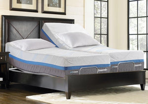 "Thomasville® 14"" Momentum IV Gel Fusion Memory Foam Mattress & 6000 Adjustable Base"