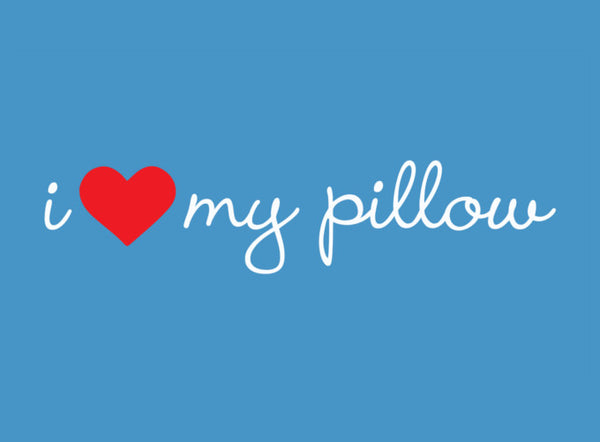 I Love My Pillow Down and Memory Foam