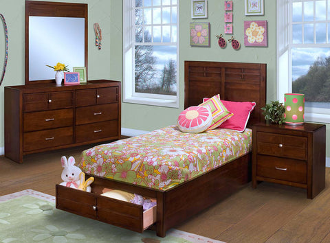 Kensington Storage Platform Bedroom Set
