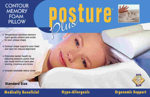 Posture Plus Memory Foam Pillow