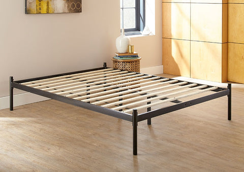 Cameron Black Platform Bed