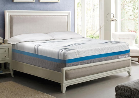 "Thomasville® 12"" Momentum I Memory Foam Mattress & 6000 Adjustable Base"