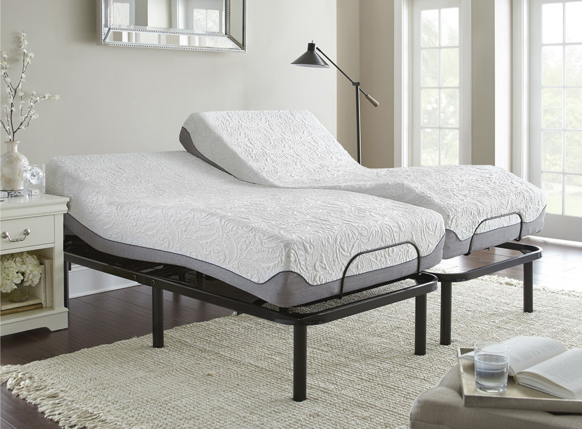 Picture of: Split King Adjustable Base With 2 Mattress Special Thebedroomstore Com