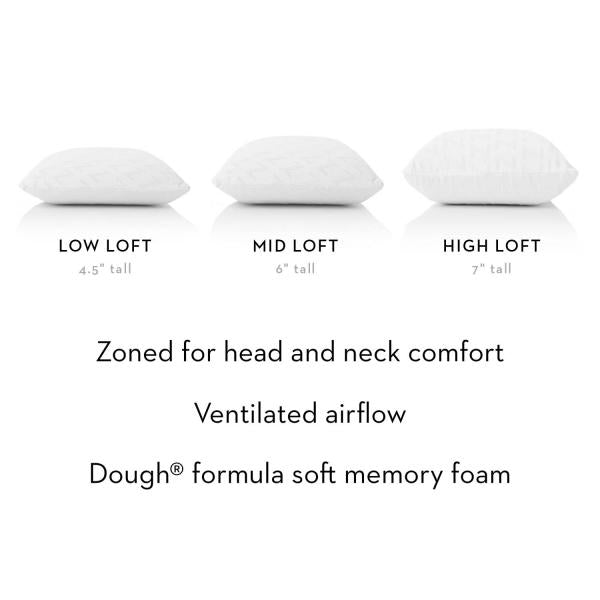 Z™ Zoned Dough® Pillow
