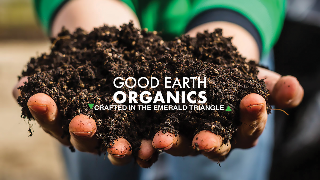 Good Earth Organics premium organic potting soil crafted in the emerald triangle.