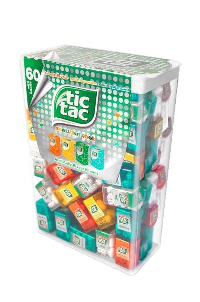 Tic TAC Dragees Lilliput Mix Mini Boxen 60 Stück