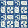 Fez Blanket Moroccan Craft Stencil -Royal Design Studio