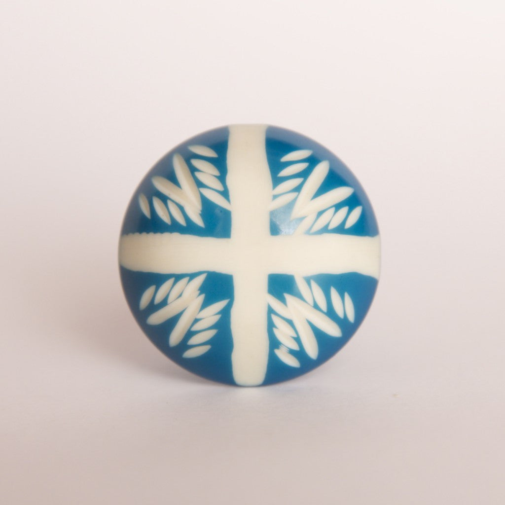 Hot Cross Ceramic Knob