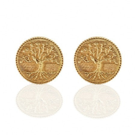 Collect Bowerbird Tree of Life Stud Earrings