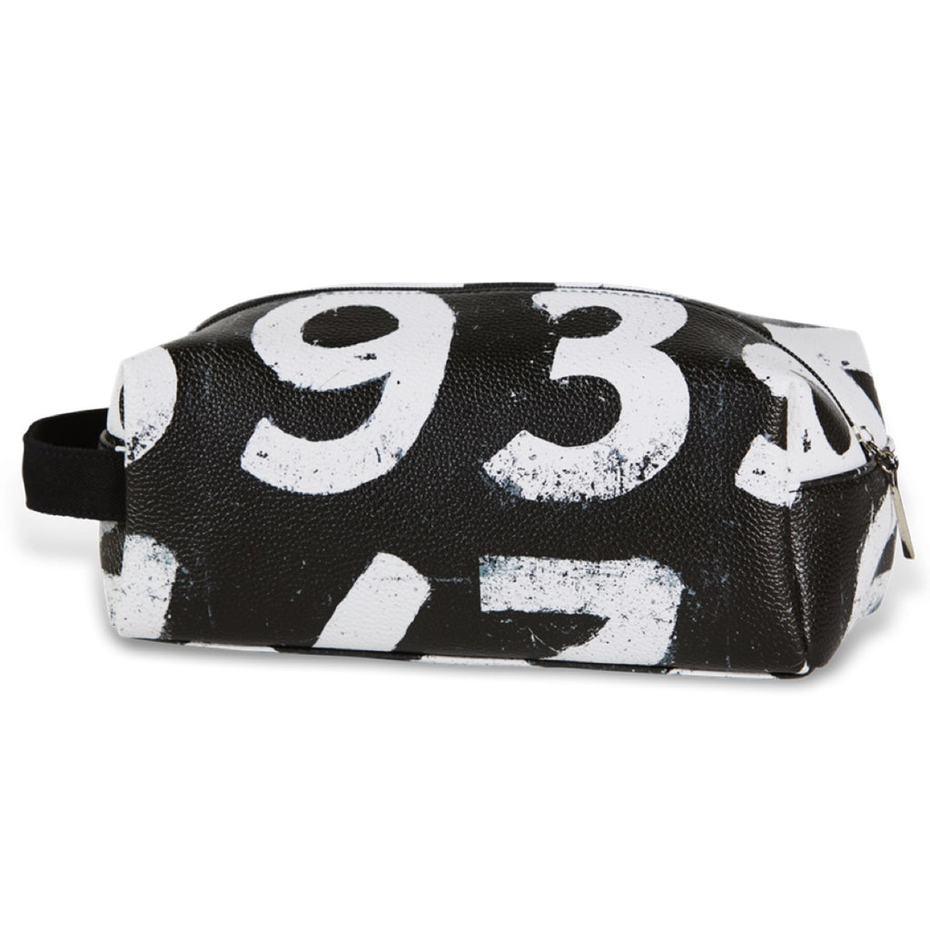 Sporting Nation Men's Wash Bag - Scoreboard Numbers  - Avail in Black or White