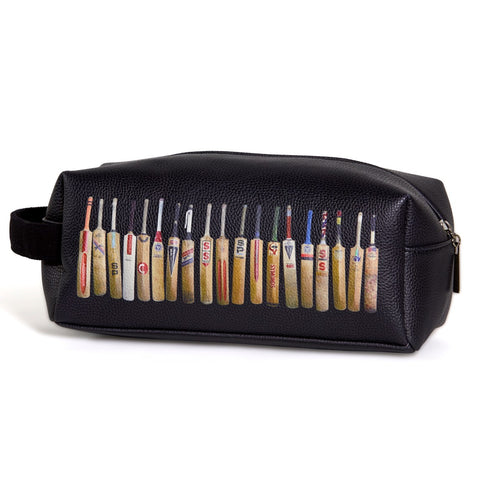 Sporting Nation Men's Wash Bag -Bat Line Up    Avail in Black or White