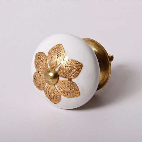 Golden Bloom Knob