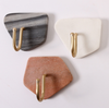 Geology Marble Wall Hook - Grey