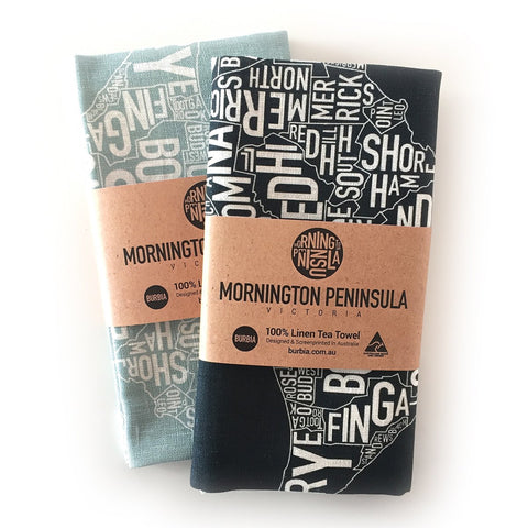 Burbia Mornington Tea Towel - Two colours