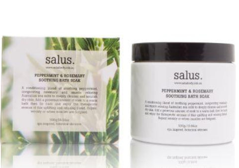 Salus Peppermint & Rosemary Bath Soak