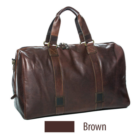 Oran Leather Cairo Overnight Bag