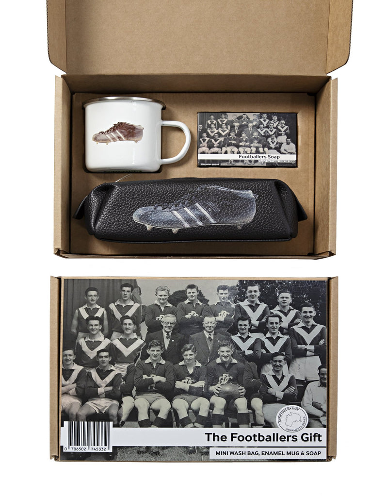Sporting Nation  Football Gift Box -Three Stripes