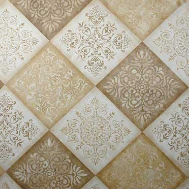 Palermo Tile Craft Stencil-Royal Design Studio