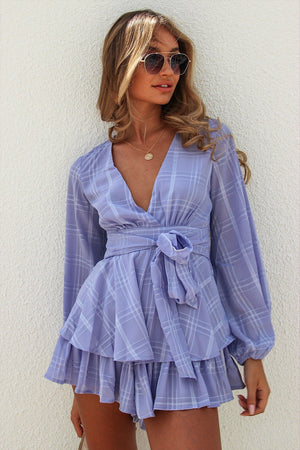 Make It Happen Playsuit Lavender