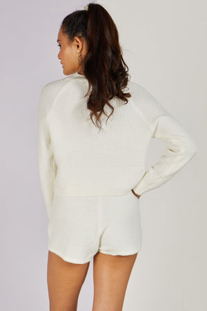 Maryland Knitted Co-ord Set White