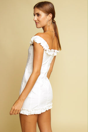 Summer Delight Mini Dress White