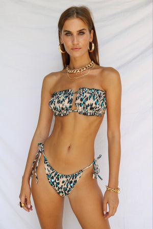 Spirit Animal Leopard Scrunchie Bikini