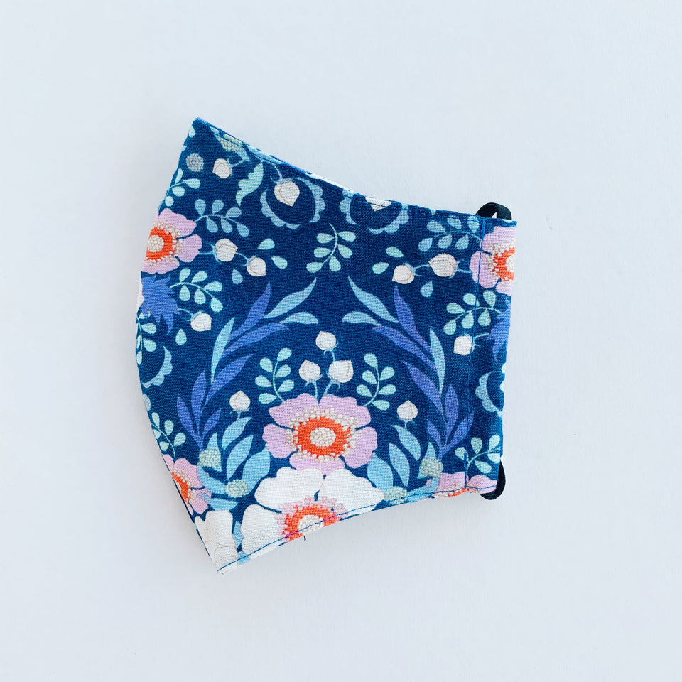 Japan Cotton Mask - Anemone | Made in Singapore