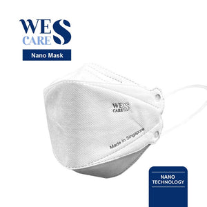 [5Pcs] Wes Cares NanoMask Reusable