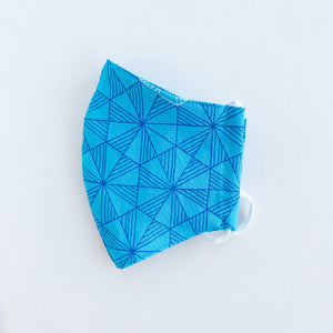 Japan Cotton Mask - Prism Blue | Made in Singapore
