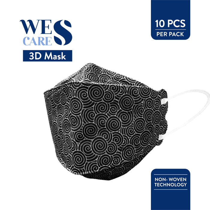 3D Premium Face Mask Design Edition [20Pcs]  (KF94 Design) | Made in Singapore | BFE 99.9% UV Sterilised