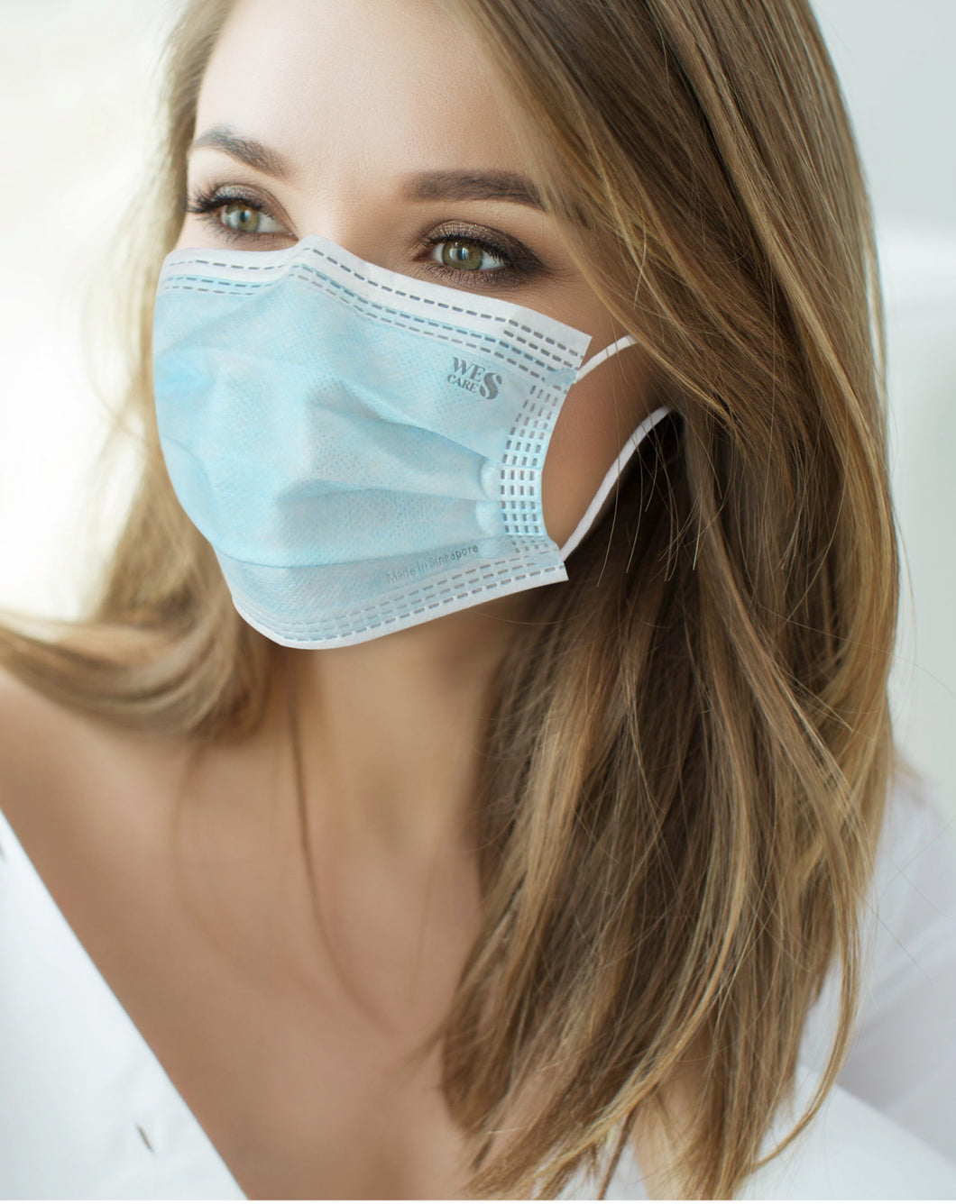 3Ply Premium Surgical Face Masks - 60 Individual Packed