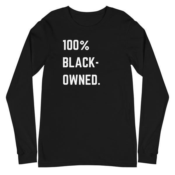 Black Owned Unisex Long Sleeve Tee - CocoCreamCo