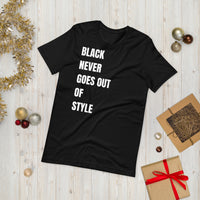 Black Never Goes Out Of Style Short-Sleeve Unisex T-Shirt - CocoCreamCo