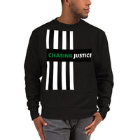Chasing Justice Champion Sweatshirt - CocoCreamCo