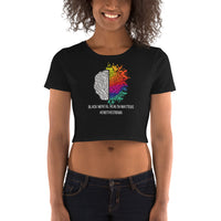 End The Stigma Women's Crop Tee - CocoCreamCo
