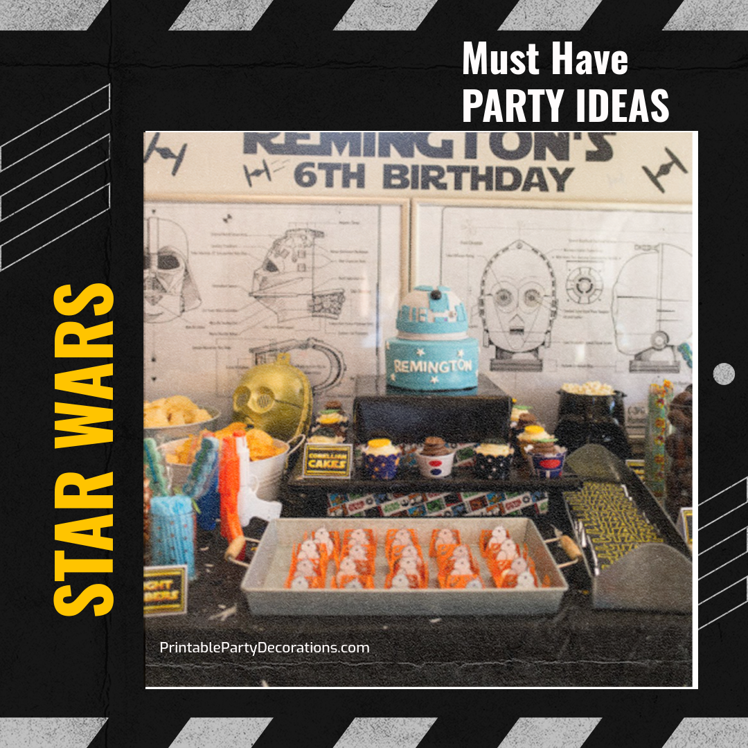 Must have STAR WARS party ideas!