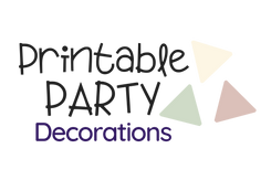 Printable Party Decorations