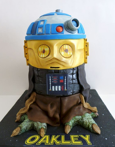 Star Wars Cake Photo by: Cemlyn Cakes (UK).
