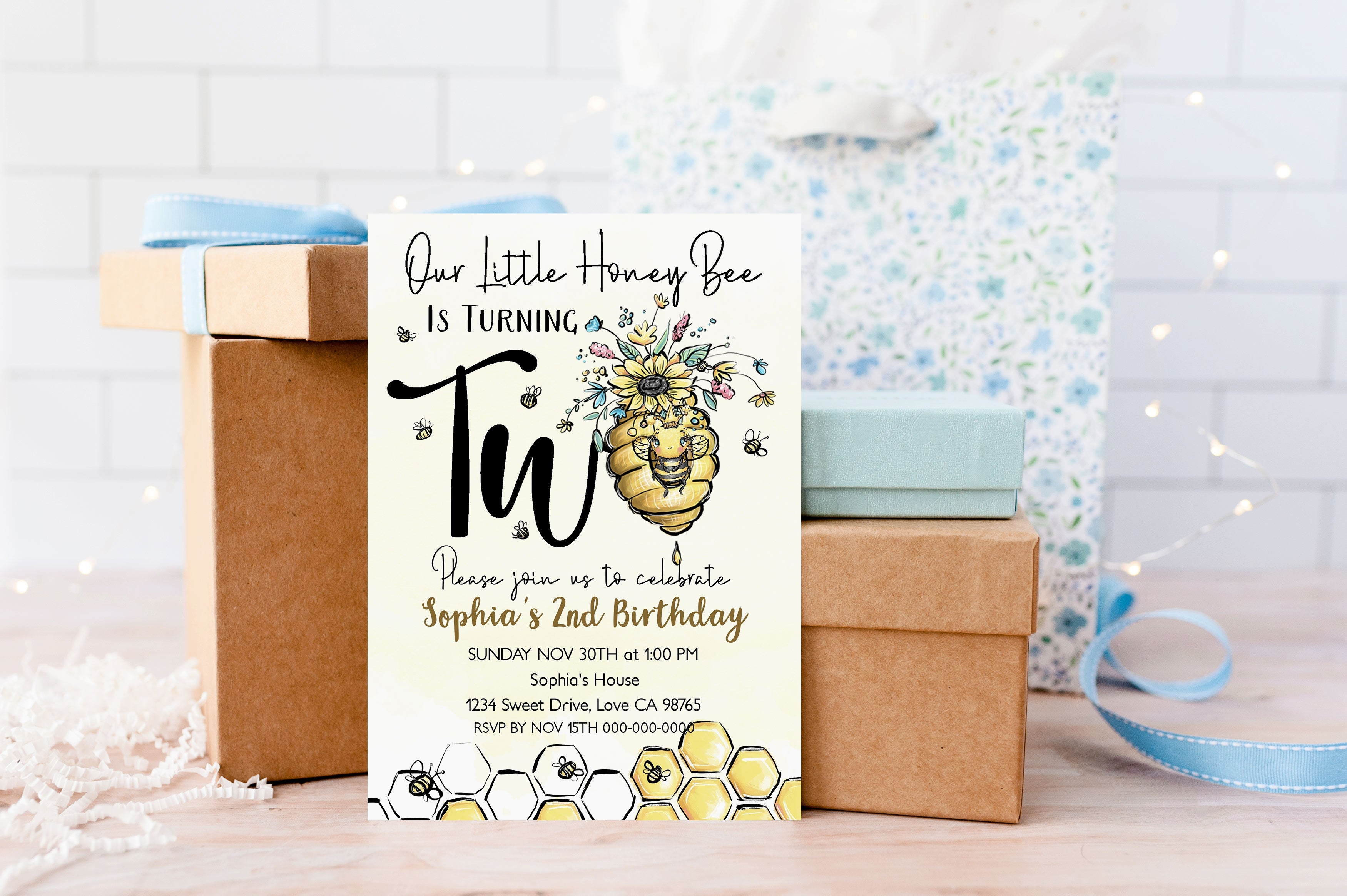 Our Little Honey Bee is Turning two | Bumble Bee 2nd Birthday - 61A