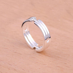 Deformation Ring-Couple Ring/Couple Necklace