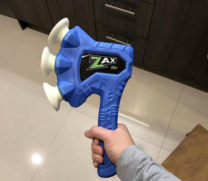 Creative relief pressure sucker flying axe toy