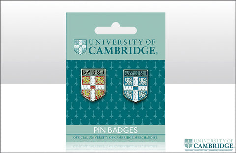 Cambridge University Pin Badge - Pair